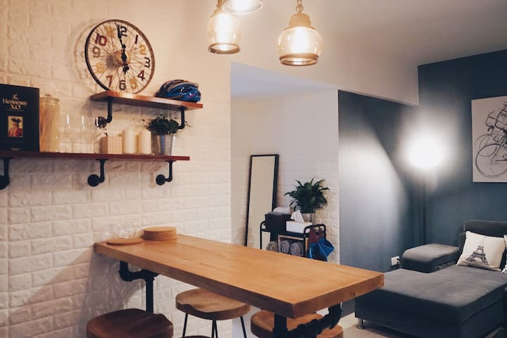 Stay in the Heart of Guangzhou/2 room,3 guests. - Guangzhou - Lakás