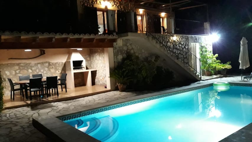 "Mediterranean Finca ""Es Puch"" with Mountain view, Wi-Fi, Balcony, Garden, Terraces & Pool; Parking Available"