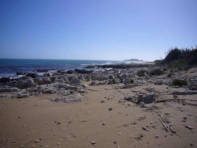 Accesso diretto ed esclusivo alla meravigliosa spiaggia dell'isola delle Correnti