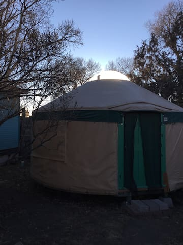 "Warm & Cozy Shambala Downtown Budget Yurt""!"