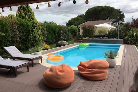 Maison avec piscine 25km Toulouse - Eaunes