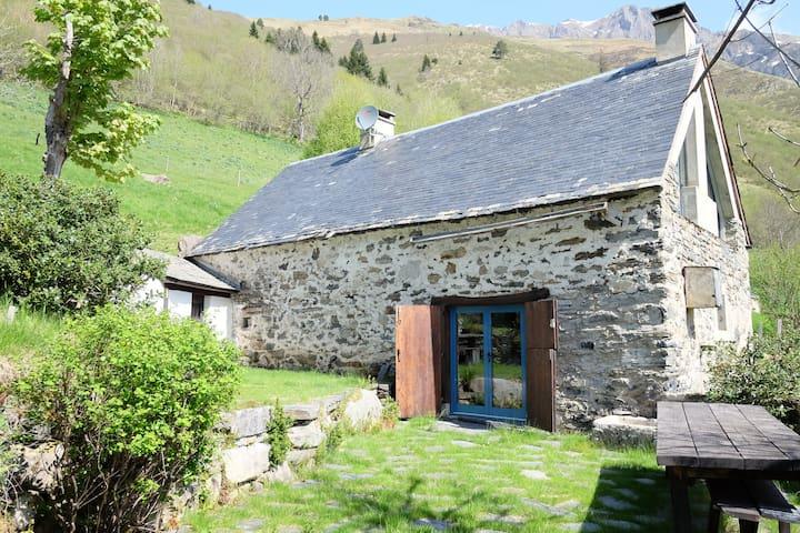 belle grange pyrénéenne - Aulon - Casa