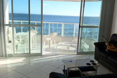 Exuberant apartment facing the sea - Guarapari - Appartement