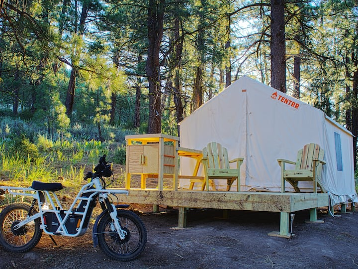 Tentrr Signature Site - Hidden Trails Campsite