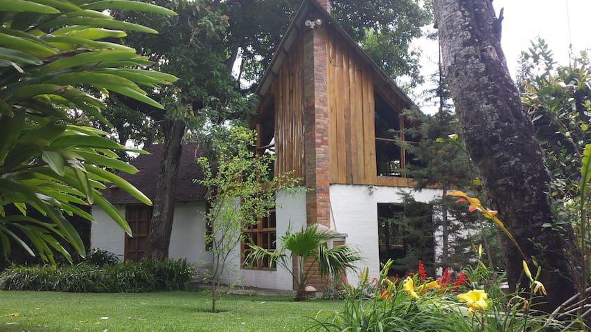 Chalet en Apaneca - Mountain Cabin! - Apaneca - Rumah