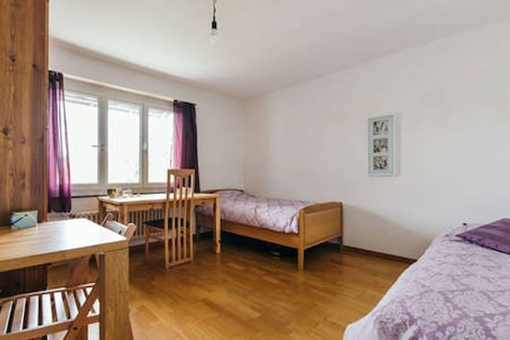 Large and Airy double room near Zurich City Center