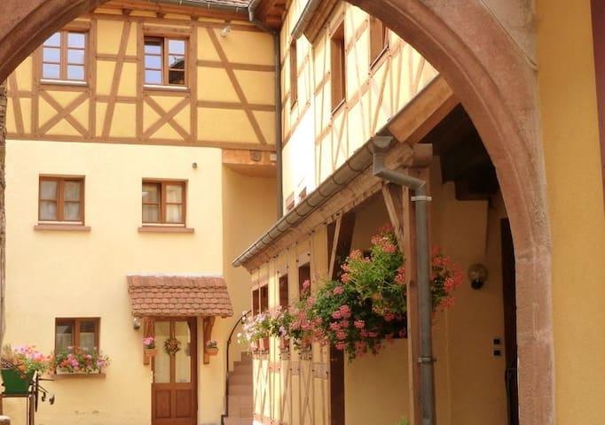 Les Remparts de Ribeauvillé en centre-ville