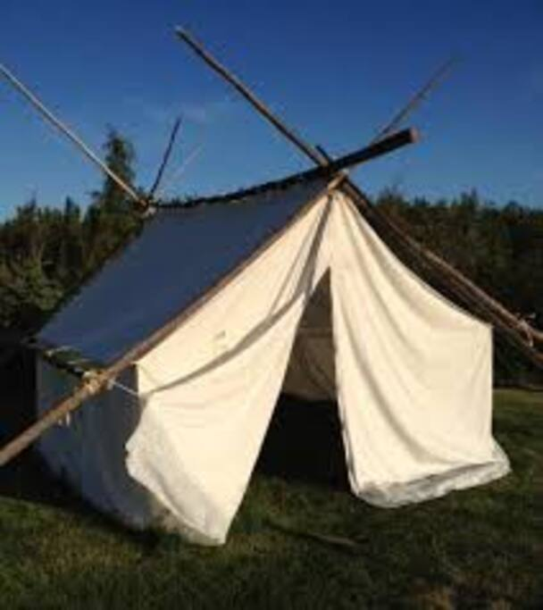 Small wall tent 1 cowboybreakfast tents for rent in for Wall tent floor