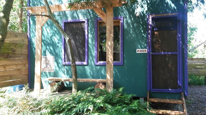 """""""Aura"""", cabaña para parejas o familia, acogedora"""