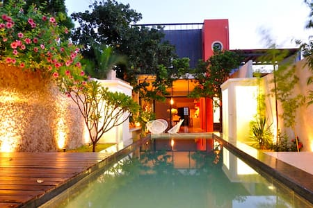 10 Person Casa on quiet street. - Merida - House