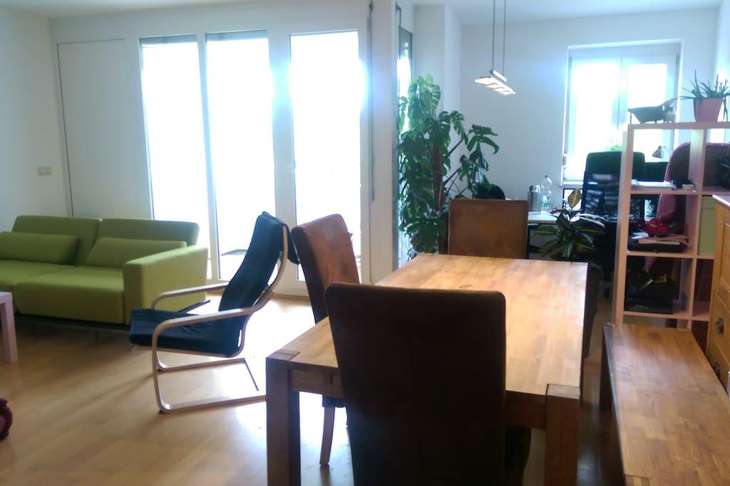 modernes studio im chiemgau wohnungen zur miete in traunstein bayern deutschland. Black Bedroom Furniture Sets. Home Design Ideas