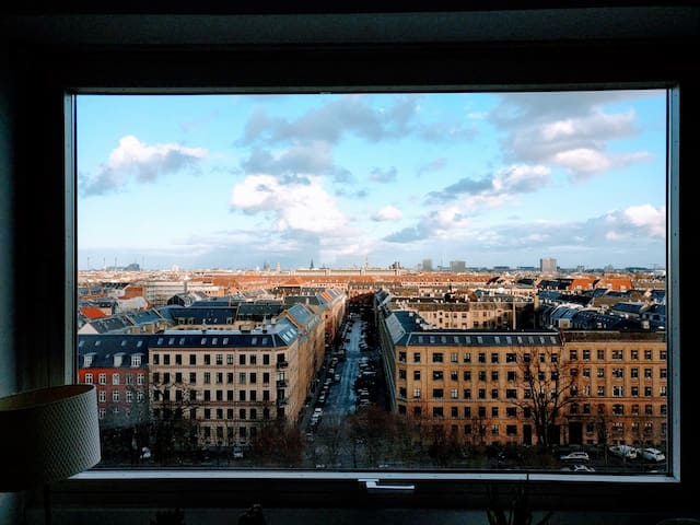 Light Penthouse in Central Copenhagen - Frederiksberg - Appartement