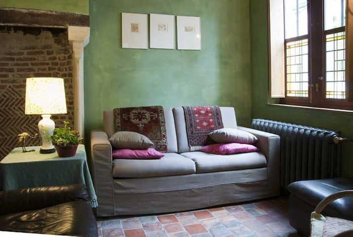 Huge en suite in a 1730 house - Gand - Bed & Breakfast