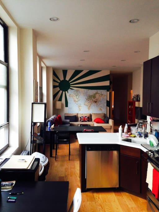 Private bedroom bathroom tribeca flats for rent in new for Rooms for rent in nyc with private bathroom