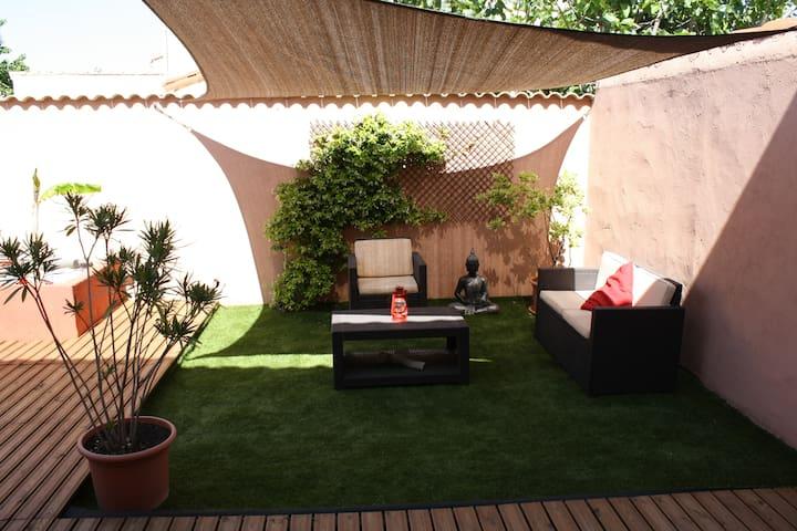 Villa paisible 100 m2 - Narbonne - Haus