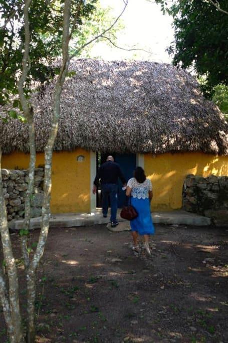 Ripios, típicas construcciones mayas