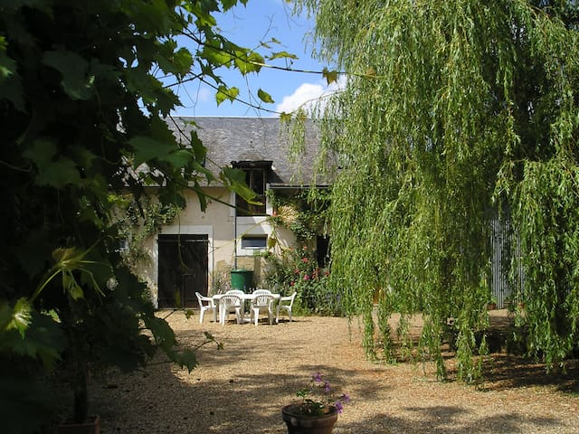 Loire Valley ,Converted Barn/Stable - Fougere - Huis