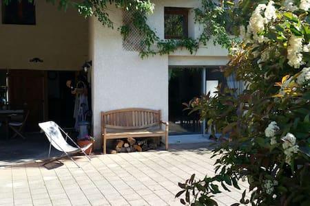 4 chambres famille 15mn lyon - Beynost - Rumah