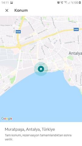 Beach park Atatürk parkı Deniz müze