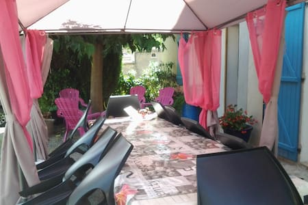 Le gîte d´Eliane -Gite famillial avec jardin privé - Lagrasse