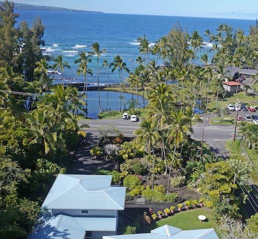 Best Hilo Location- Oceanfront