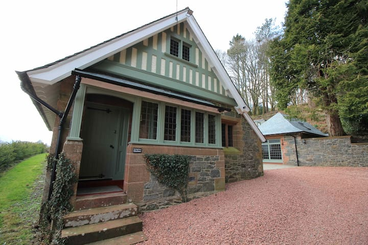 The Lodge House, Glenluiart - Moniaive - Rumah
