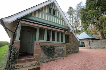 The Lodge House, Glenluiart - Moniaive
