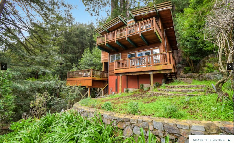 Redwood Treehouse Only 10 Miles from San Francisco