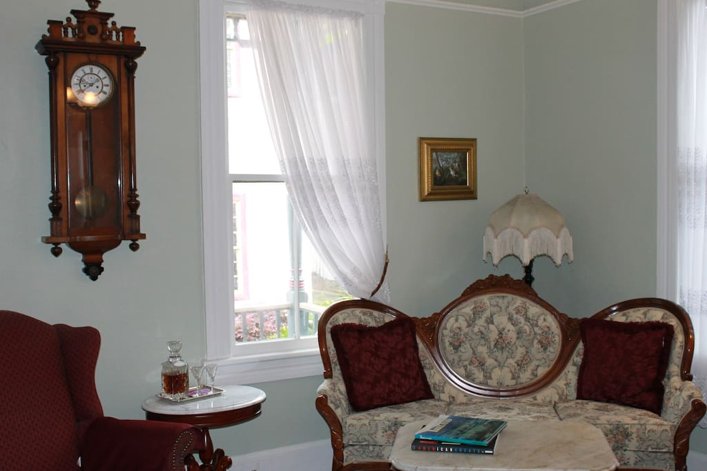 Relaxing Parlor in main house