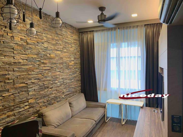 2br loft center New apartment near orchard road