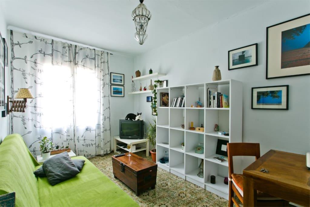 Livingroom/Sofabed