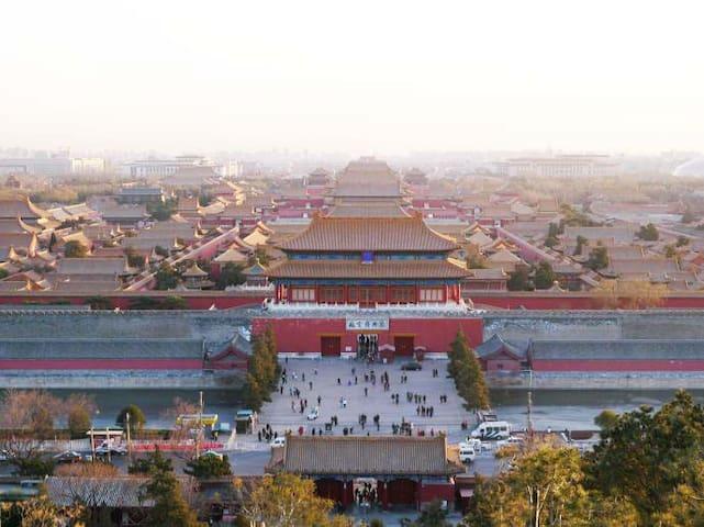 景山北海·胡同里的复式房Hutong Duplex - Beijing