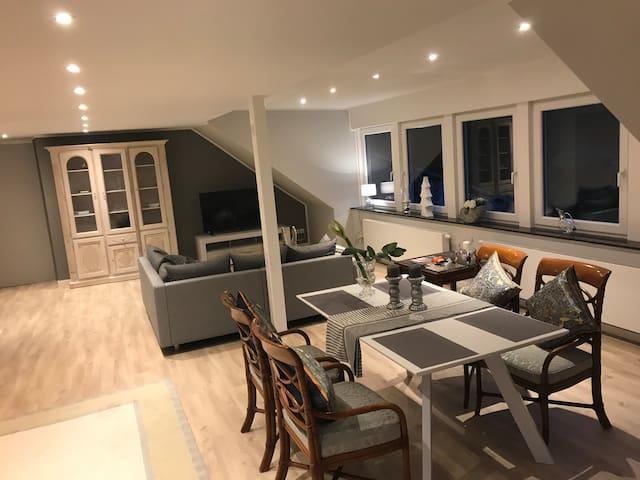 Wohnung 113 qm im offenen Baustil zu vermieten
