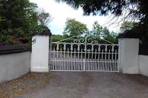 Front gates!