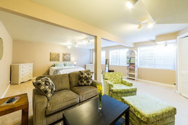 Large Basement Room Available - Albuquerque - Casa