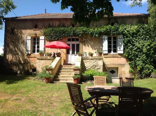 Sfeervol landhuisje in de Dordogne - Marsalès - Rumah