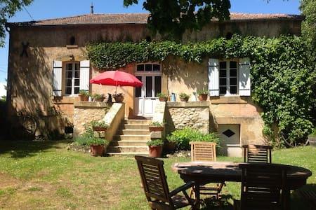 Sfeervol landhuisje in de Dordogne - Marsalès - House