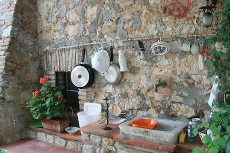 ITALIAN CONVENT S.XII APTO.LA BOTTE - Lugnano in Teverina - Huvila