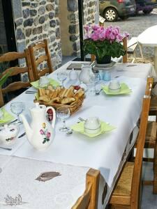 Chambre d'hôtes Marée Haute à St Germain sur Ay - Bed & Breakfast
