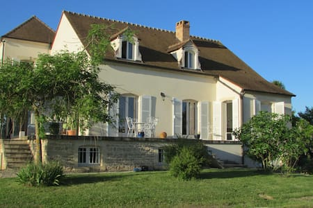 Chambre privée près de Beaune avec petit dejeuner - Marigny les Reullée  - Casa