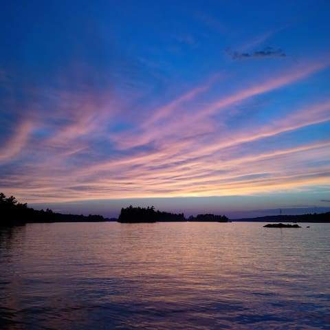 Beautiful Muskoka Sunsets - Torrance - Cabin