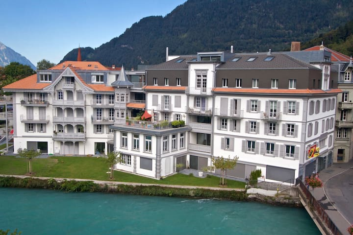 Cosy Quality Interlaken Apartment Perfect Location - Unterseen