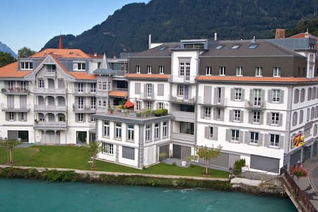 Cosy Quality Interlaken Apartment Perfect Location - Unterseen - Apartment