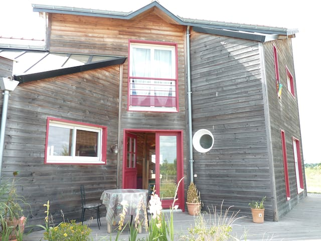 agréable & lumineuse maison en bois - Saint-Lambert-du-Lattay