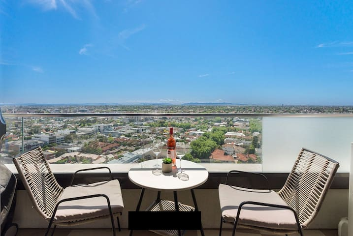 Luxury apartment sky high