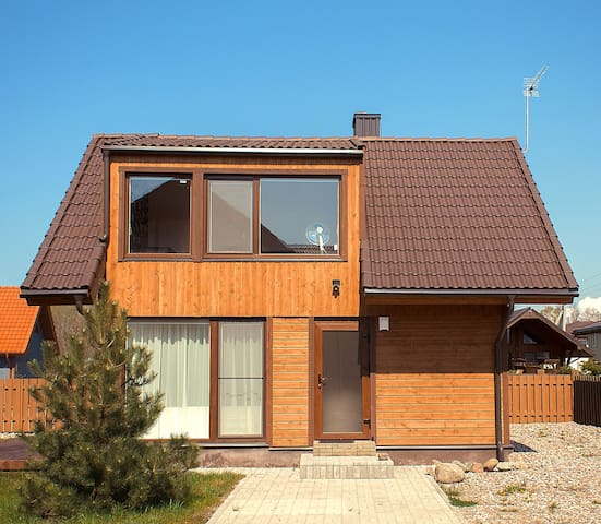 Two-storey hut with terrace (5) - Palanga - Huis