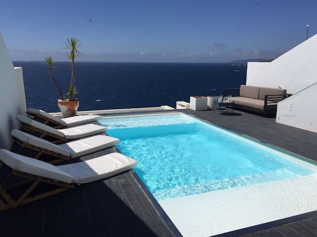Modern house with stunning seaview - Sta Eulalia - Cabane