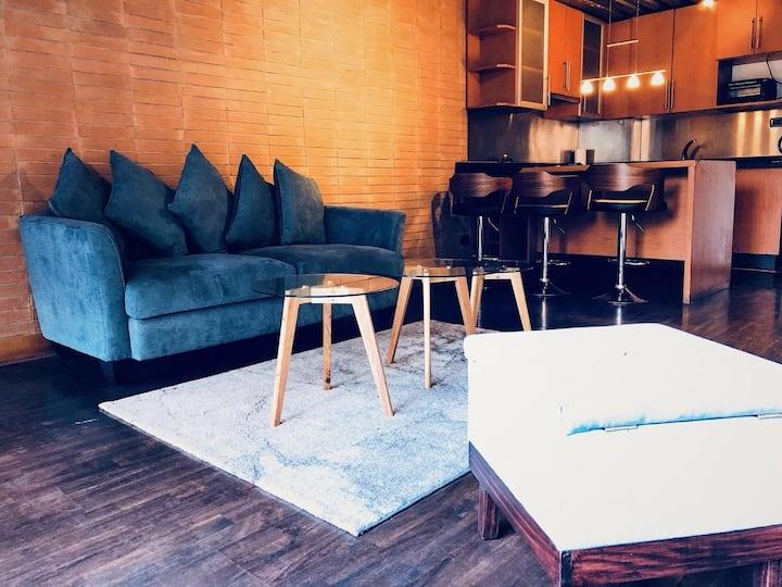 Loft: excelente ubicación para vacaciones-negocios