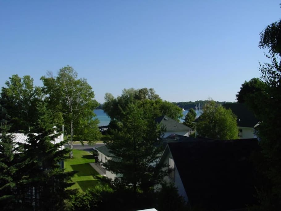 View from 3rd story porch