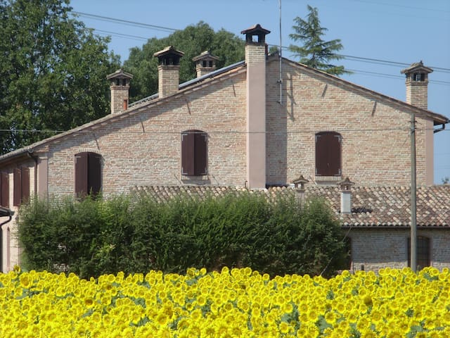Bedrooms in wonderful farmhouse - Ravenna - Szoba reggelivel
